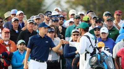 El dominio de Jordan Spieth en el comienzo del Masters de Augusta de golf