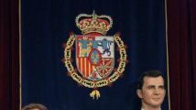 El rey Felipe, la reina Letizia y la aún inacabada figura de la princesa...