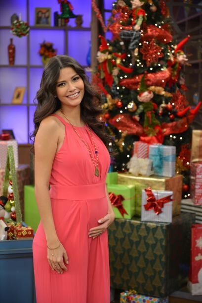 Ana Patricia se ve radiante embarazada.