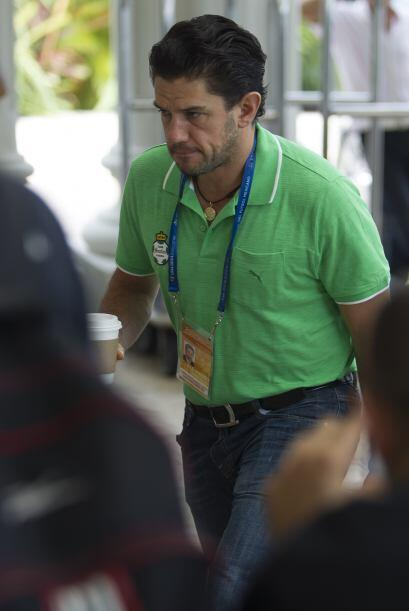 Alejandro Irarragorri, Presidente de Santos, no encontró nada que le gus...
