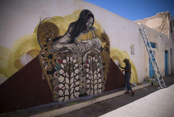 La isla convirtió sus calles en espacios de expresión para cada artista...