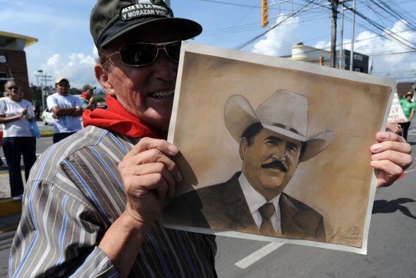 Honduras fue suspendida de la OEA el 4 de julio de 2009 a raíz del golpe...
