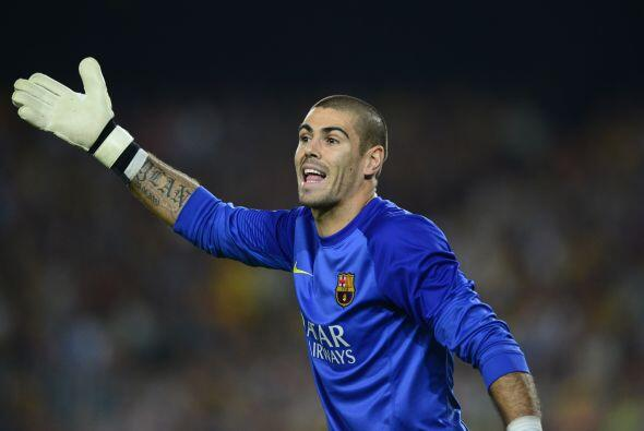 El portero del Barcelona Víctor Valdés anunció hace meses que no continu...