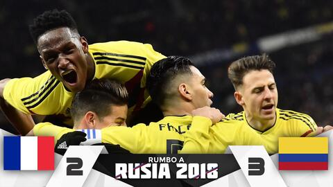 Colombia 3-2 Francia