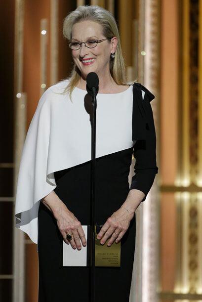 Meryl Streep en el escenario