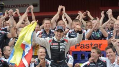 Pastor Maldonado es el primer venezolano en ganar en Fórmula Uno.