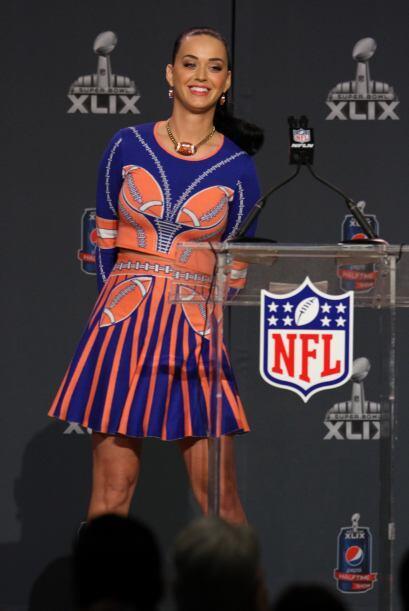 Checa más imágenes de la conferencia de prensa de Katy Perry (Foto: Mari...