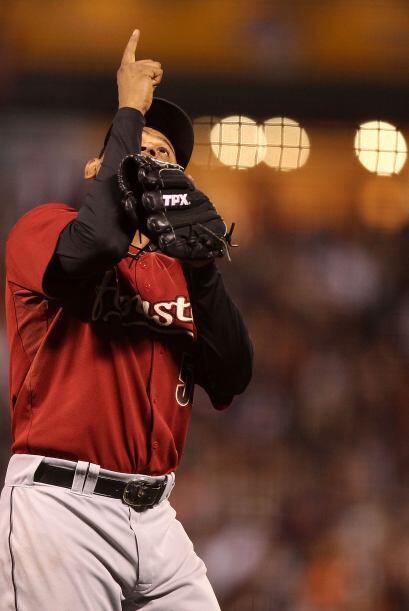 RP. Wilton López. Astros de Houston. El nicaragüense vio acción en 5 sal...