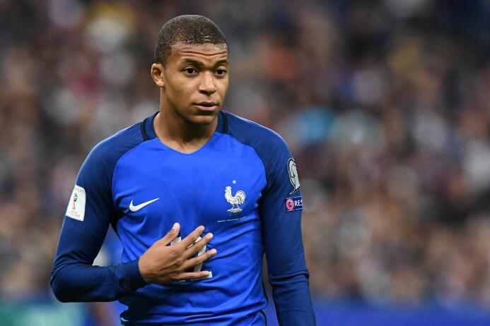 Kylian Mbappé - 18 años (Francia / Paris Saint-Germain)