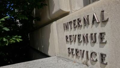 Instalaciones del IRS en Washington.