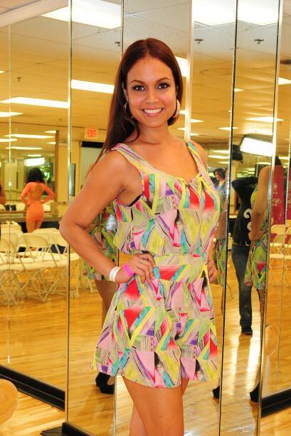 Jennifer Guevara-Campos de Puerto Rico, audicionó en Puerto Rico. Ella e...