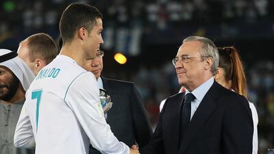 Presidente del Real Madrid revela detalles de la venta de Cristiano a la Juventus