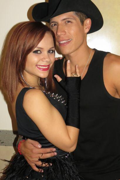 Fernando Corona hizo dueto con Ana Cristina para la segunda semana.