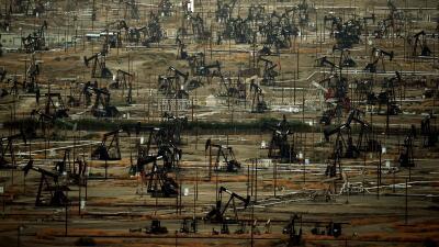 Producción de petróleo en Bakersfield, California