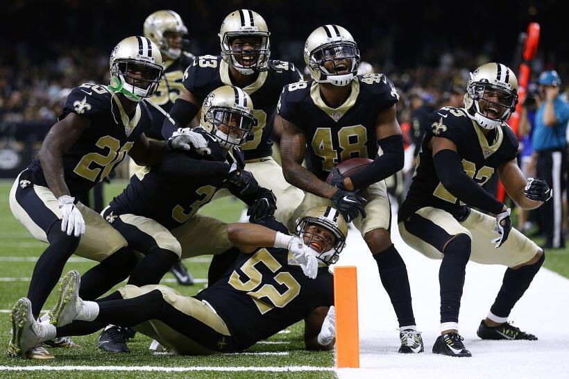 Así se jugarán los Playoffs de la temporada 2017 de la NFL saints.jpg