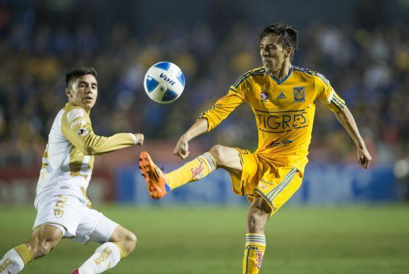 Lobos es el tercer máximo goleador de Tigres con 62 anotaciones, de igua...