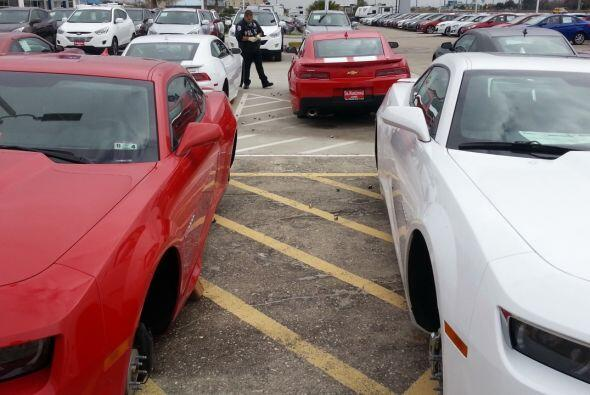 En tablas, así quedaron 22 carros nuevos en el concesionario DeMontrond...