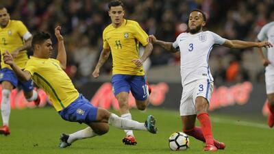 Inglaterra y Brasil podrían compartir grupo en el Mundial.