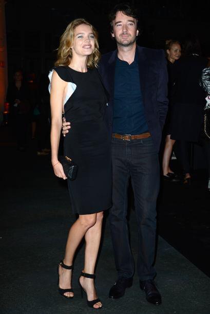 La modelo rusa Natalia Vodianova y Antoine Arnault, lucieron guapísimos...