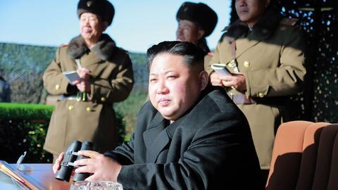 Estados Unidos probó un misil balístico luego de que Corea del Norte lan...