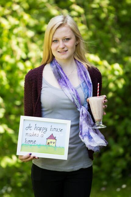 Después de la anorexía, creó un libro de auto ayuda