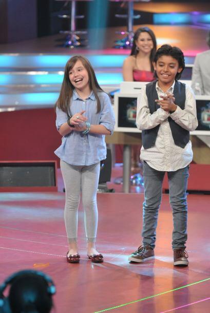 Amira y Jancarlo estaban anciosos por observar divertida su participación.