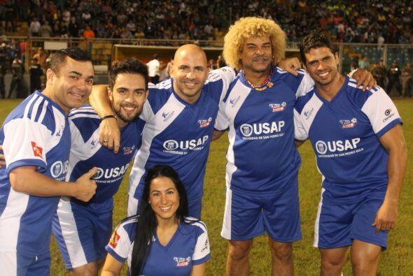 El 'Pibe' Valderrama estuvo en el equipo de Danilo. Cortesía: Nicolas Fr...