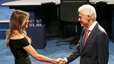 En fotos: A minutos del primer debate presidencial