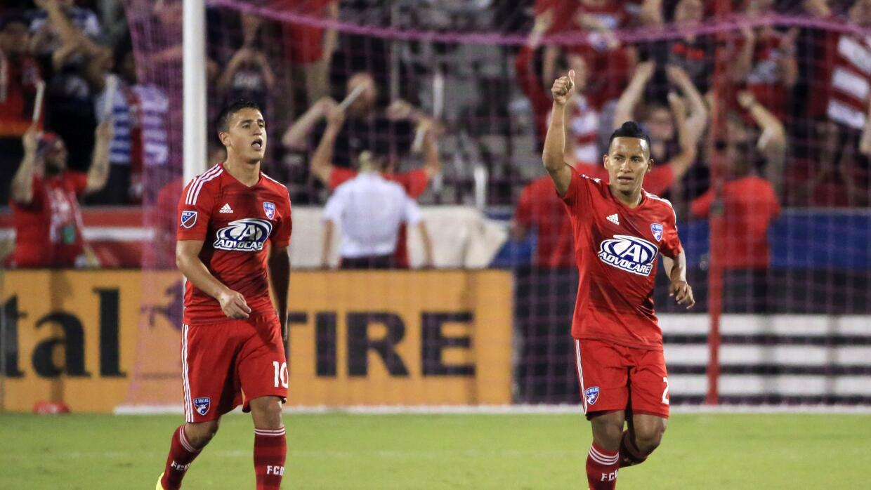 Micahel Barrios y Mauro Díaz, FC Dallas
