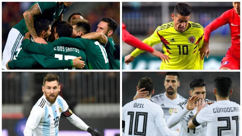 Belleza mundialista del 'Tri': las fanáticas de México contra Islandia u...