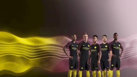 Nuevo Uniforme Manchester City