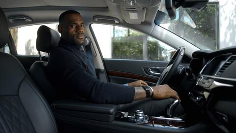 Los autos de LeBron James