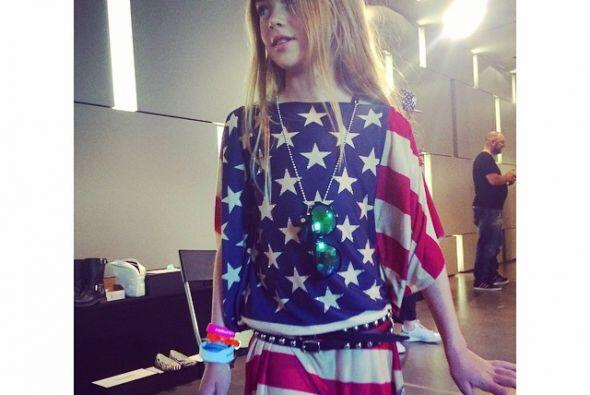 Muchos expertos en moda la consideran como la modelo más joven y la ''ni...