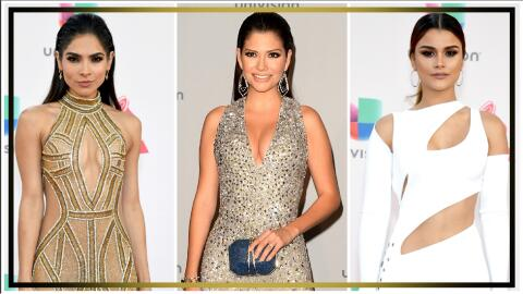 Alejandra, Ana Patricia y Clarissa en Latin Grammy