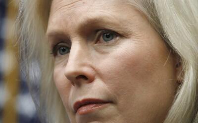 La senadora demócrata Kirsten Gillibrand ha sido una de las voces...