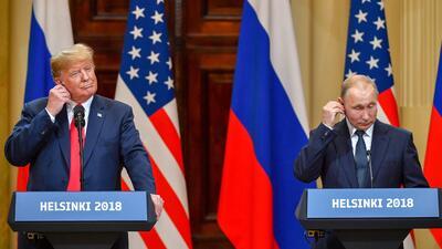 Trump se quitó la máscara en Europa