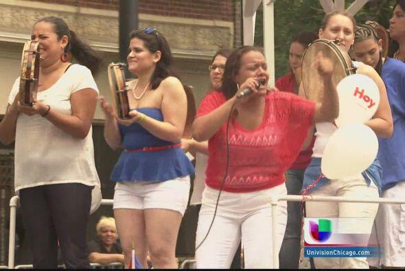 Cientos de puertorriqueños recordaron sus raices y añoraban su patria mi...
