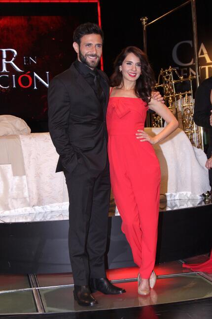 Silvia Navarro y Gabriel Soto listos para 'Caer en tentación'