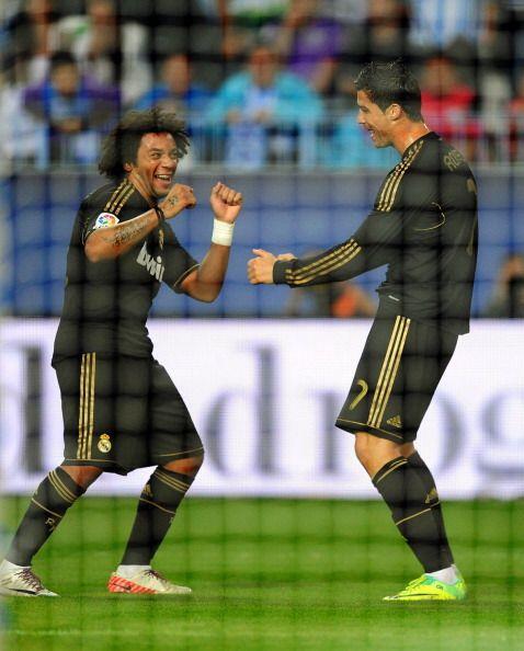 En la celebración Marcelo y Cristiano demostraron que además de ser exce...