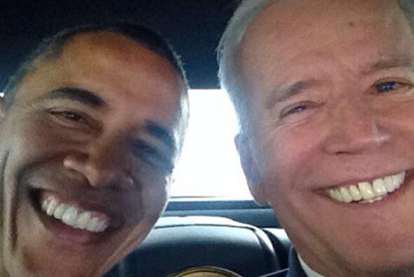 El presidente Barack Obama al parecer sabe divertirse con el vicepreside...