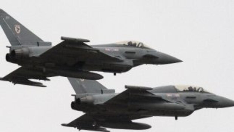 Los dos aviones de combate volvieron intactos a la base militar de Chipre.