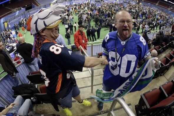 Mucha diversión en el Media Day (AP-NFL).