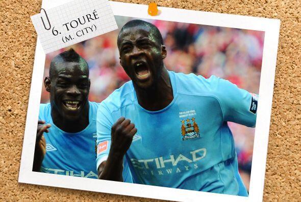 Seguimos con Yaya Touré, el volante del Manchester City.