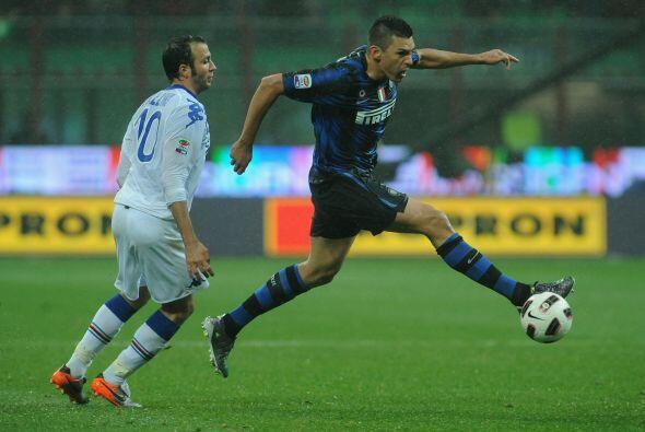 Inter de Milán cerró la jornada con la busqueda de los tres puntos ante...