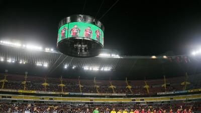 La nueva pantalla del Estadio Jalisco.