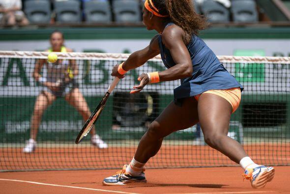 La mejor tenista del mundo, la estadounidense Serena Williams, se clasif...