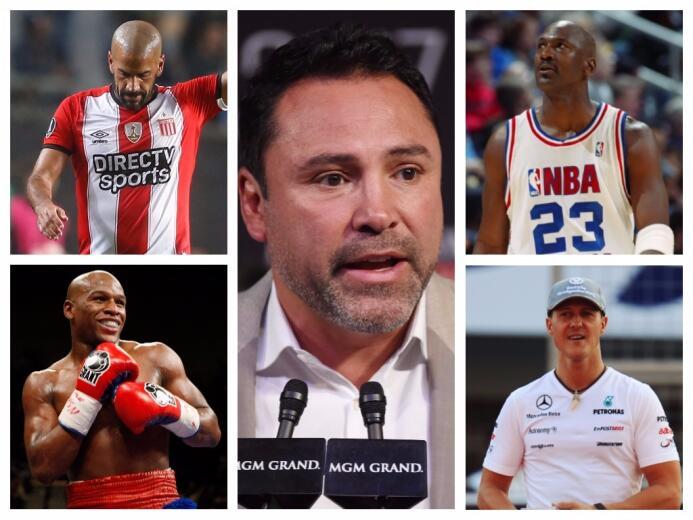 ¿Se une el 'Golden Boy'? Jordan, Schumacher, Mayweather y otros deportis...