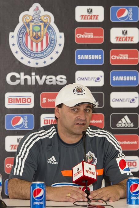 Carlos Bustos: Llegó en el Apertura 2014, con el proyecto de Rafael Puen...