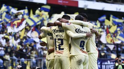 En fotos: América goleó al Atlas en el Azteca con buen fútbol