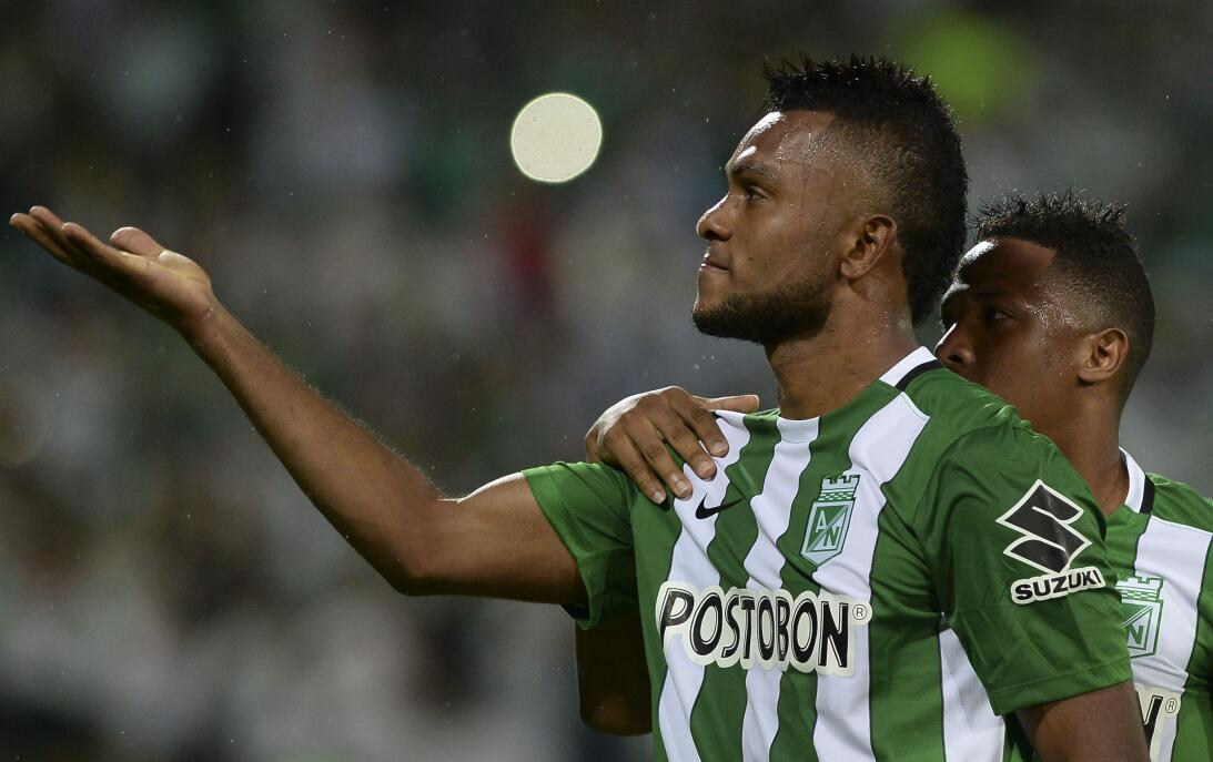 Miguel Borja, el delantero que suena para la Liga MX GettyImages-6184760...